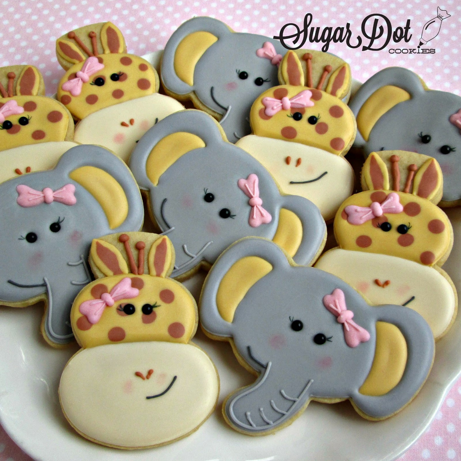 Baby Shower Sugar Cookies  Cookies are available for purchase through my website