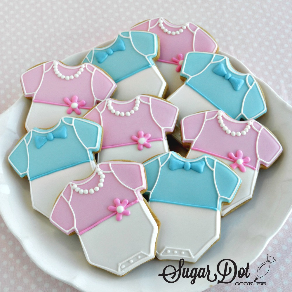 Baby Shower Sugar Cookies  and bow ties for the little men
