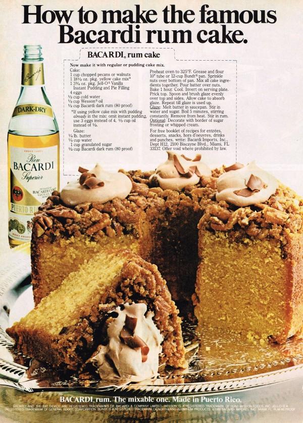 Bacardi Rum Cake Recipe  Bacardi Rum Cake – Martone Recipes