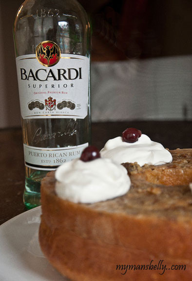 Bacardi Rum Cake Recipe  Retro Recipe Bacardi Rum Cake