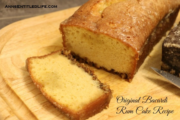Bacardi Rum Cake Recipe  Original Bacardi Rum Cake Recipe