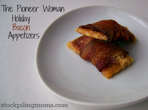 Bacon Appetizers Pioneer Woman  The Pioneer Woman Holiday Bacon Appetizers