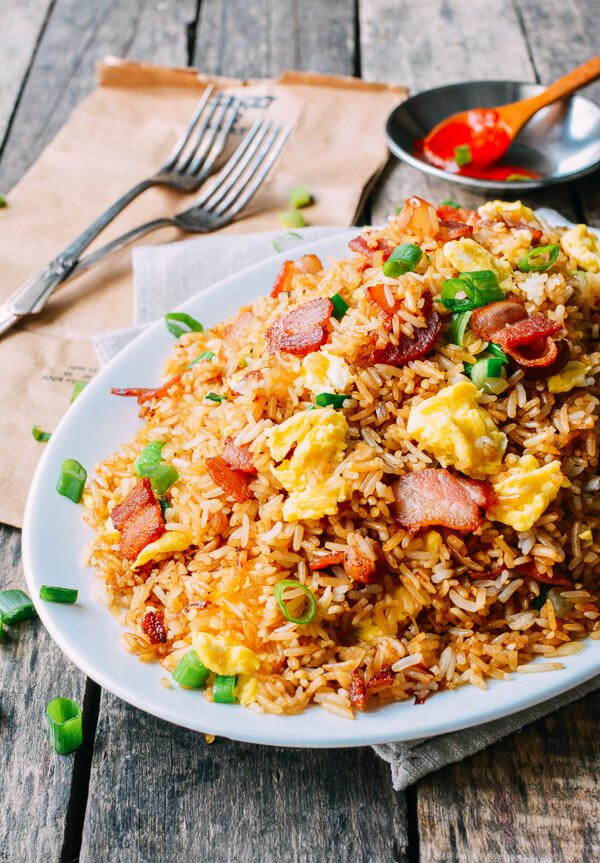 Bacon Fried Rice  Bacon and Egg Fried Rice The Woks of Life