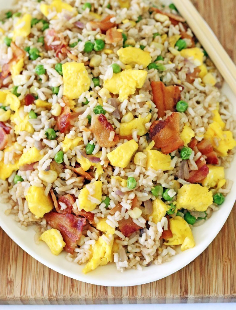 Bacon Fried Rice  Bacon Fried Rice
