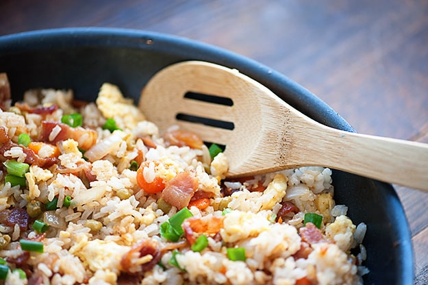 Bacon Fried Rice  Bacon Fried Rice — Buns In My Oven