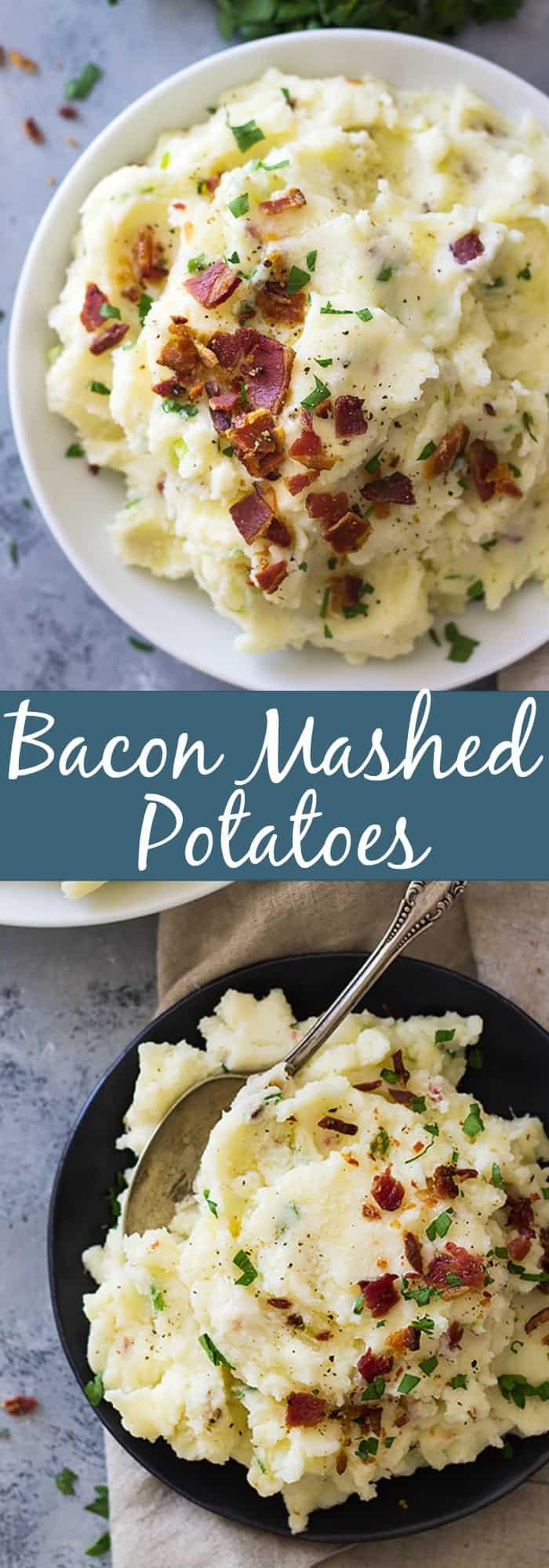 Bacon Mashed Potatoes  Bacon Mashed Potatoes
