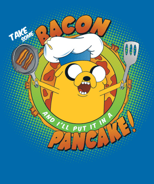 Bacon Pancakes Song  Bacon Pancake Song from Qwertee