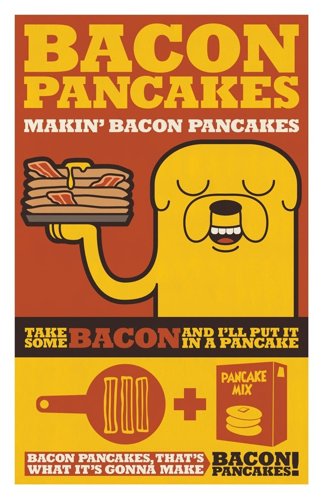Bacon Pancakes Song  Bacon pancakes adventuretime