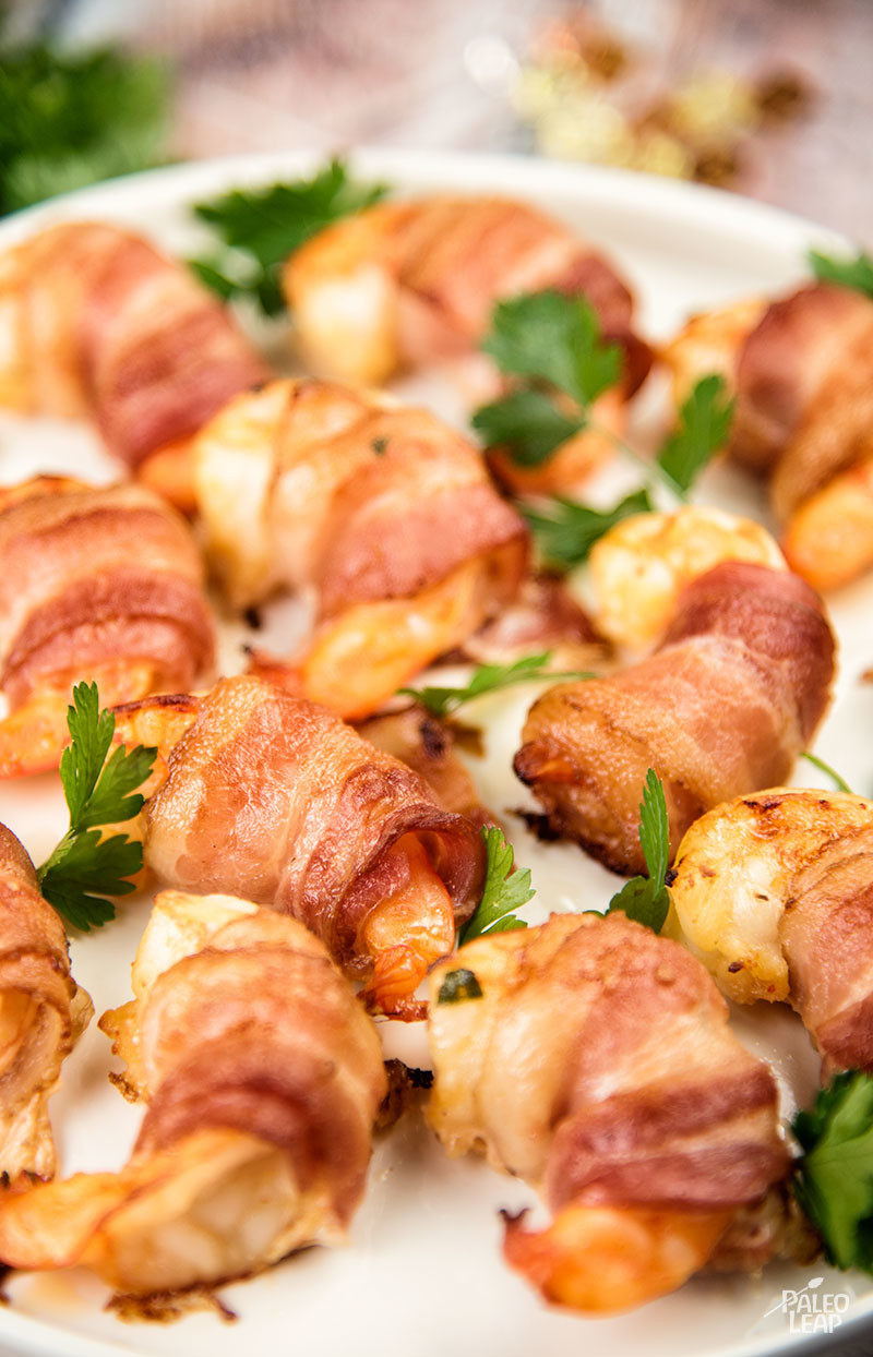 Bacon Wrapped Shrimp Appetizers  Zesty Marinated Bacon Wrapped Shrimp