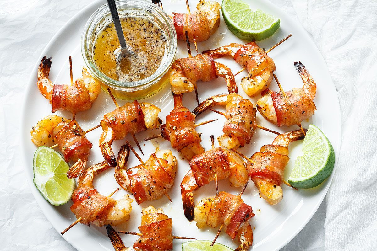 Bacon Wrapped Shrimp Appetizers  Bacon Wrapped Shrimp Recipe — Eatwell101