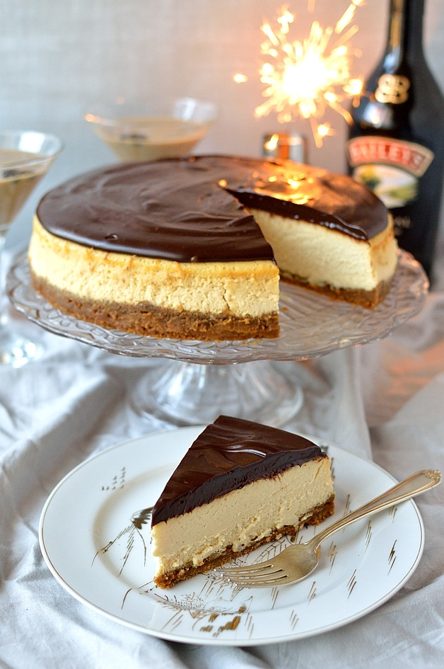Bailey Irish Cream Dessert Recipes  Baileys Cheesecake With Baileys Ganache & A Flat White