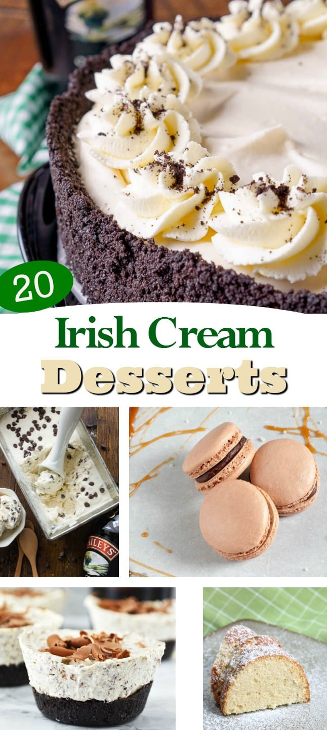Baileys Irish Cream Desserts Recipes  Irish Cream Dessert Recipes 20 St Patrick s Day Baileys