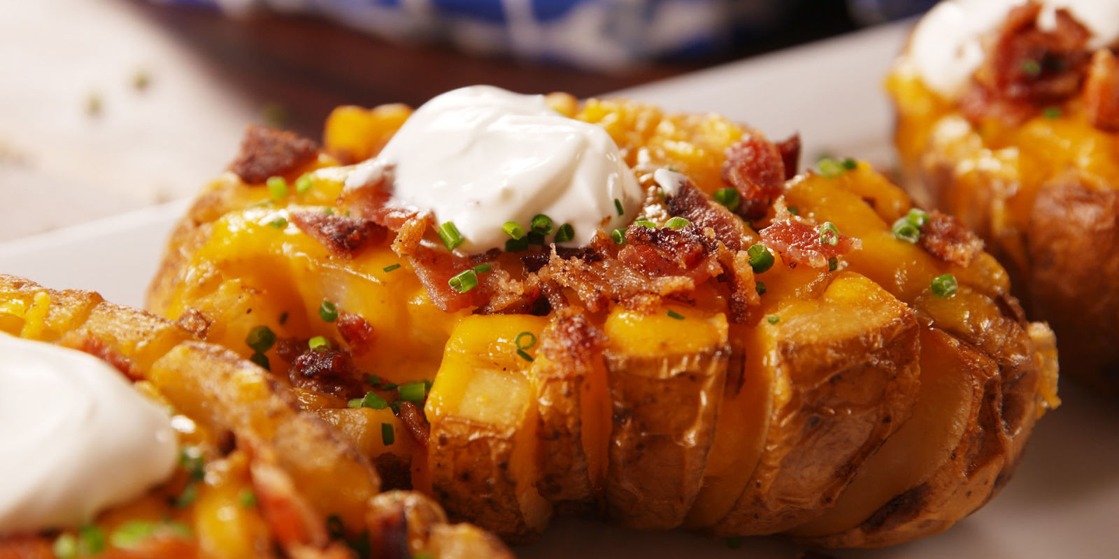 Bake A Potato  Cooking Bloomin Baked Potatoes Video – Bloomin Baked