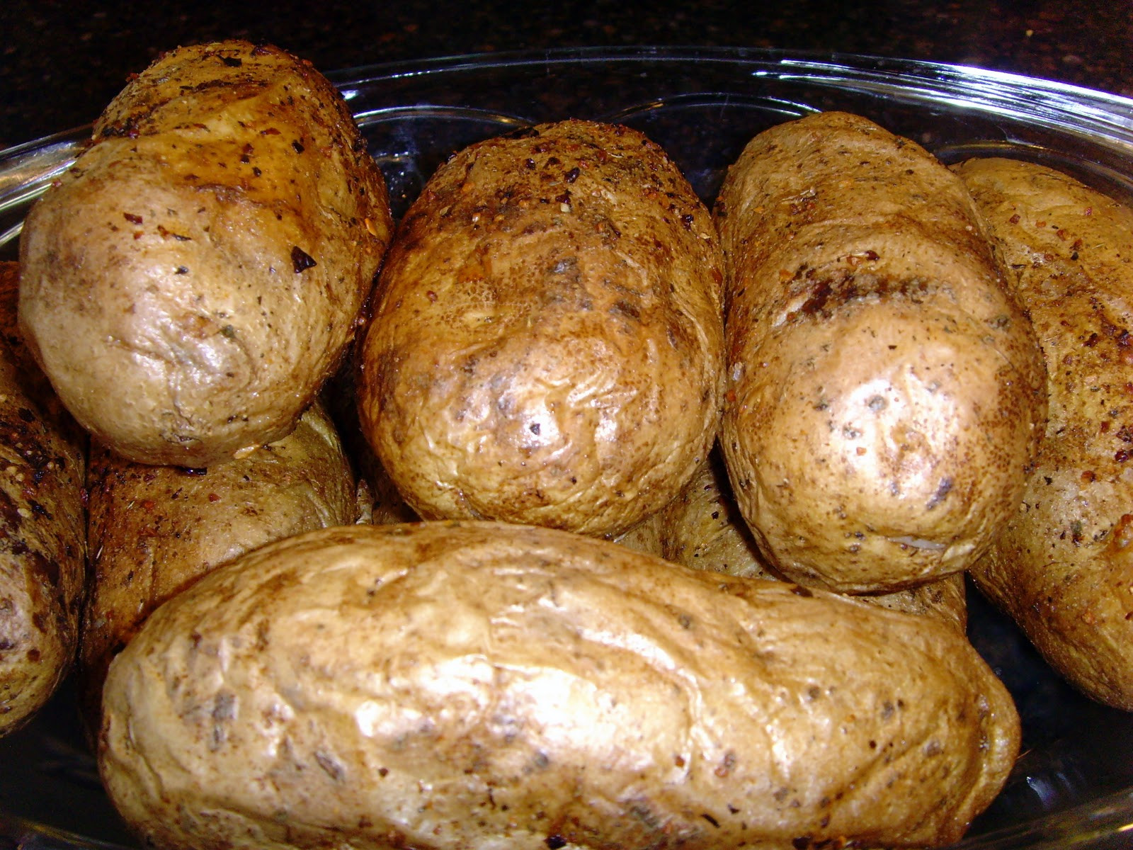 Bake A Potato In The Oven  Kitchen Tip Oven Baked Potatoes • Food Folks and Fun