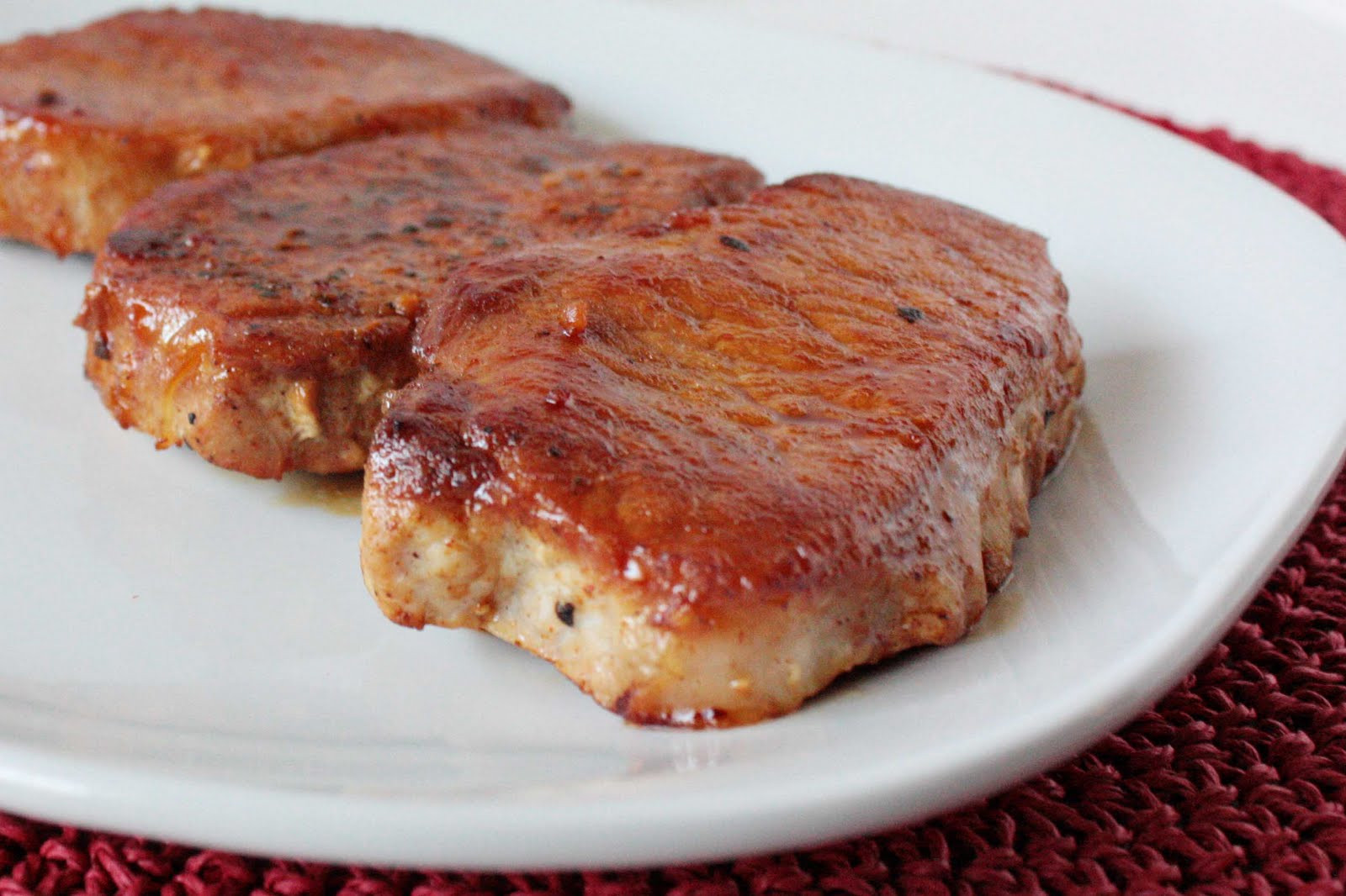 Bake Boneless Pork Chops  Momma Hen s Kitchen Honey Garlic Baked Pork Chops