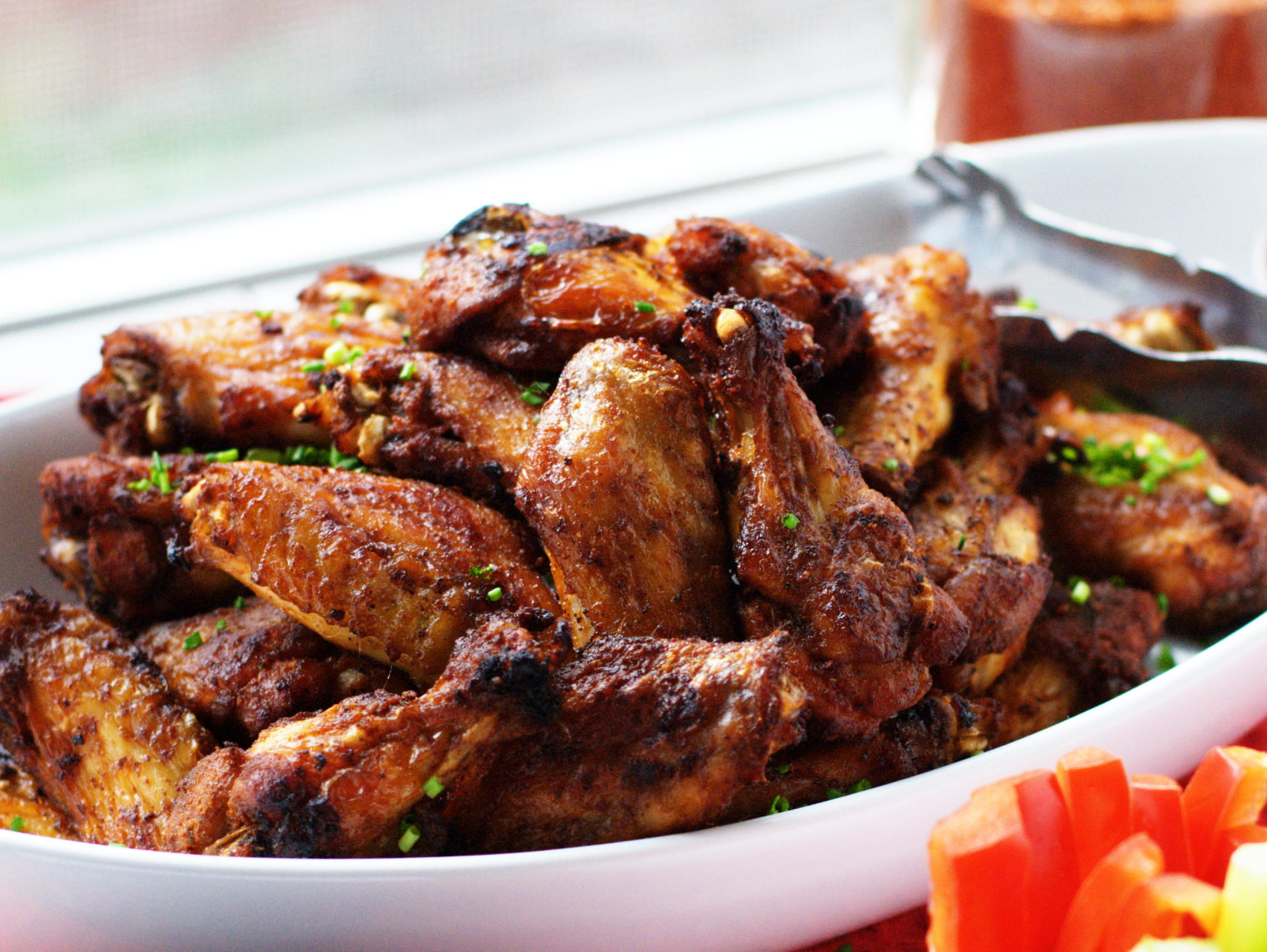 Bake Chicken Wings  Crispy Baked Chicken Wings with BBQ Dry Rub