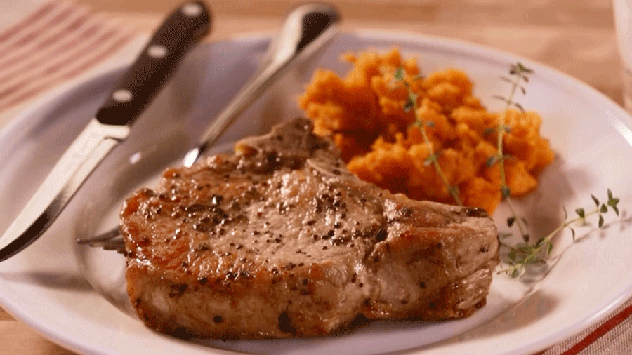 Bake Pork Chops  boneless pork loin chops baked