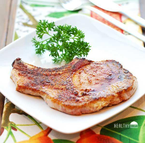 Bake Pork Chops  how long to bake thin bone in pork chops
