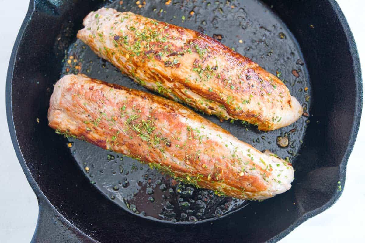 Bake Pork Tenderloin  how to cook pork tenderloin in oven without searing