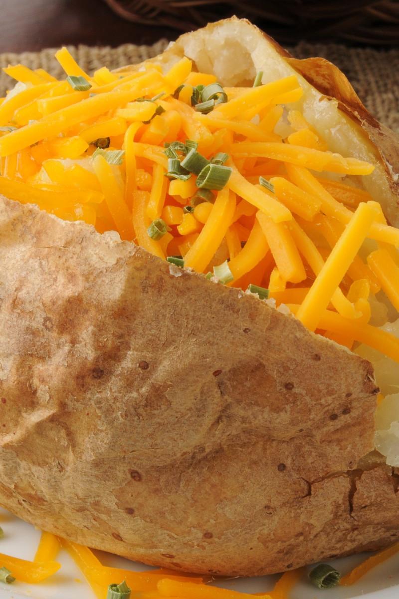 Bake Potato In Microwave  Microwave Baked Potato