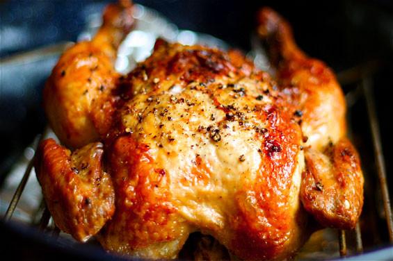 Bake Whole Chicken  Crispy Roasted Garlic Chicken Recipe