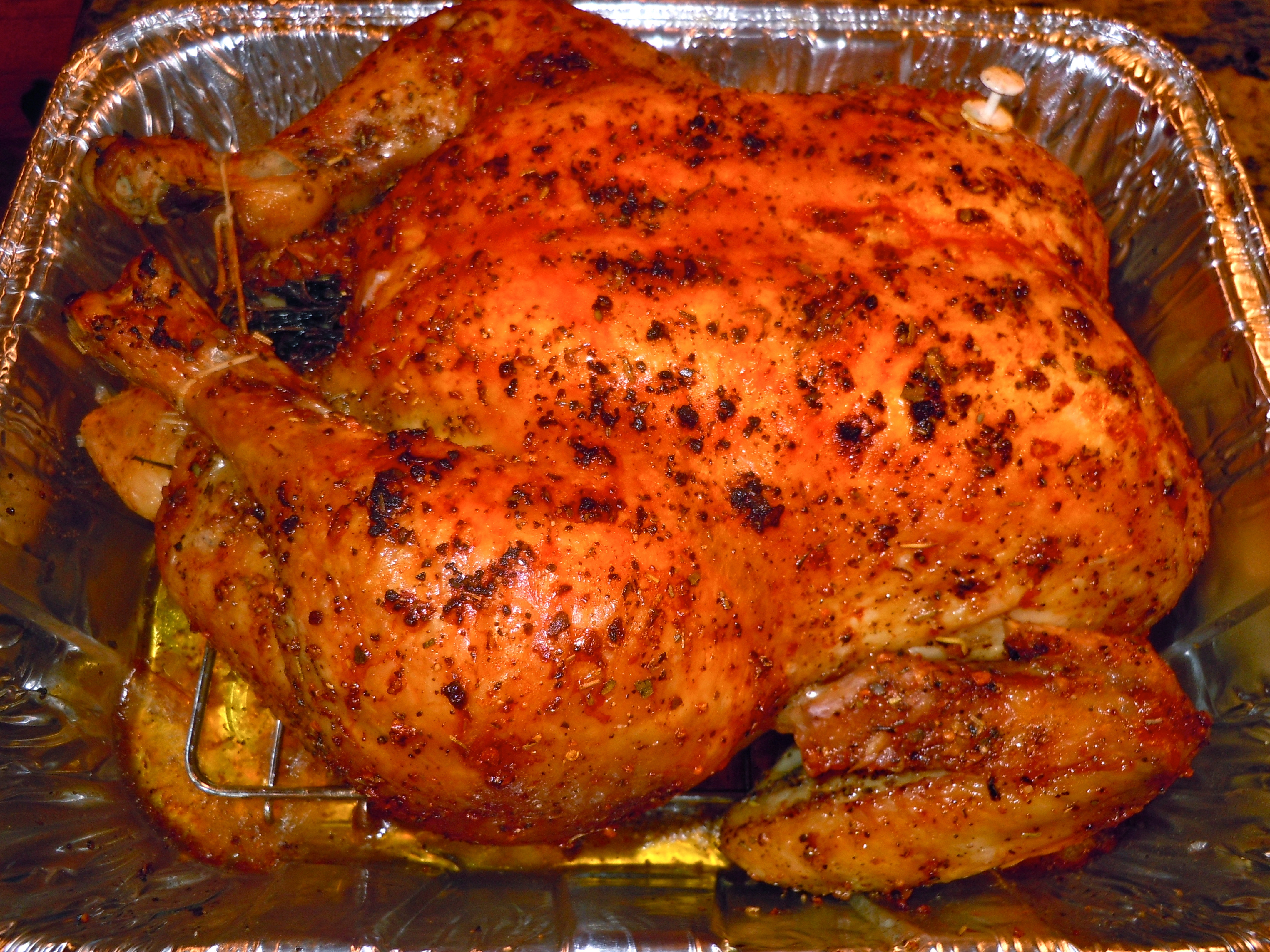 Bake Whole Chicken  Cooking Basics Roasting a Whole Chicken