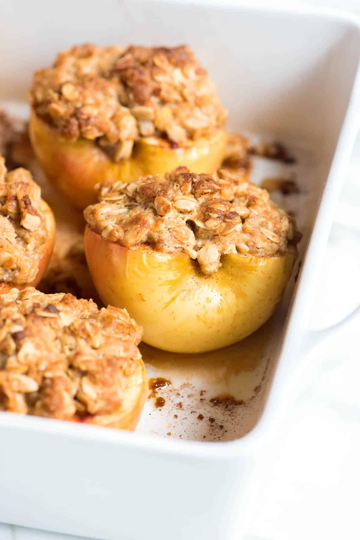 Baked Apples Dessert Recipe  Easy Baked Cinnamon Apples Recipe