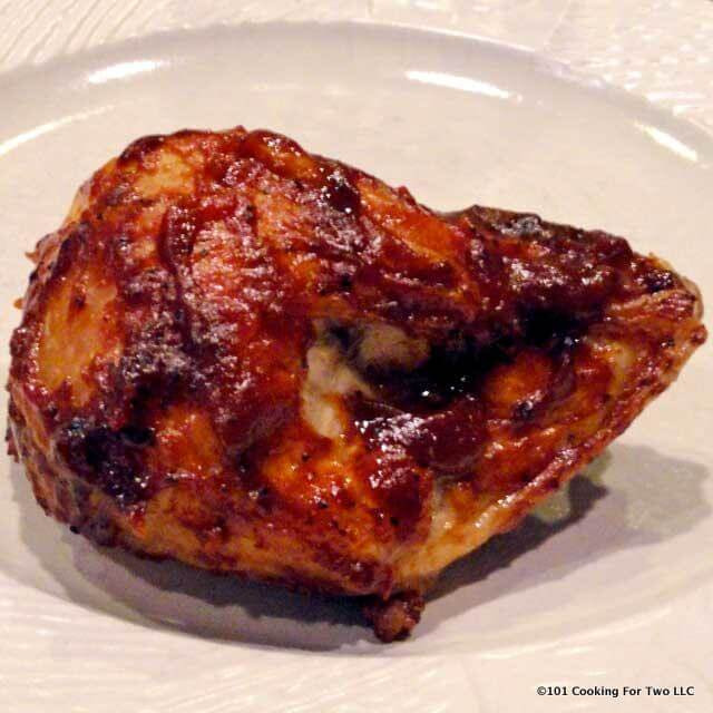 Baked Barbecue Chicken Breast  Baked BBQ Split Chicken Breast