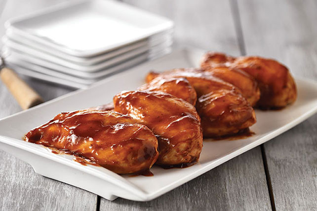 Baked Barbecue Chicken Breast  Oven BBQ Chicken Breasts Kraft Recipes