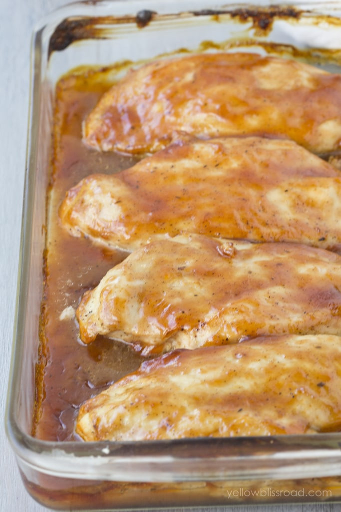 Baked Barbecue Chicken Breast  Easy Baked BBQ Chicken Breast Recipe Oven Barbecue Chicken
