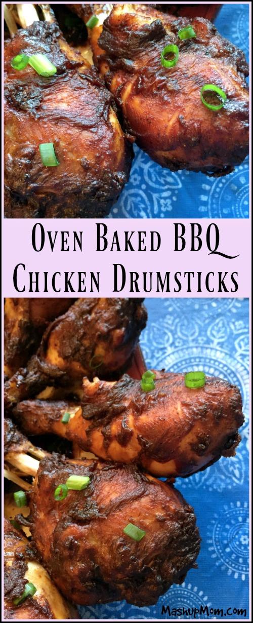Baked Bbq Chicken Drumsticks  Oven Baked BBQ Chicken Drumsticks