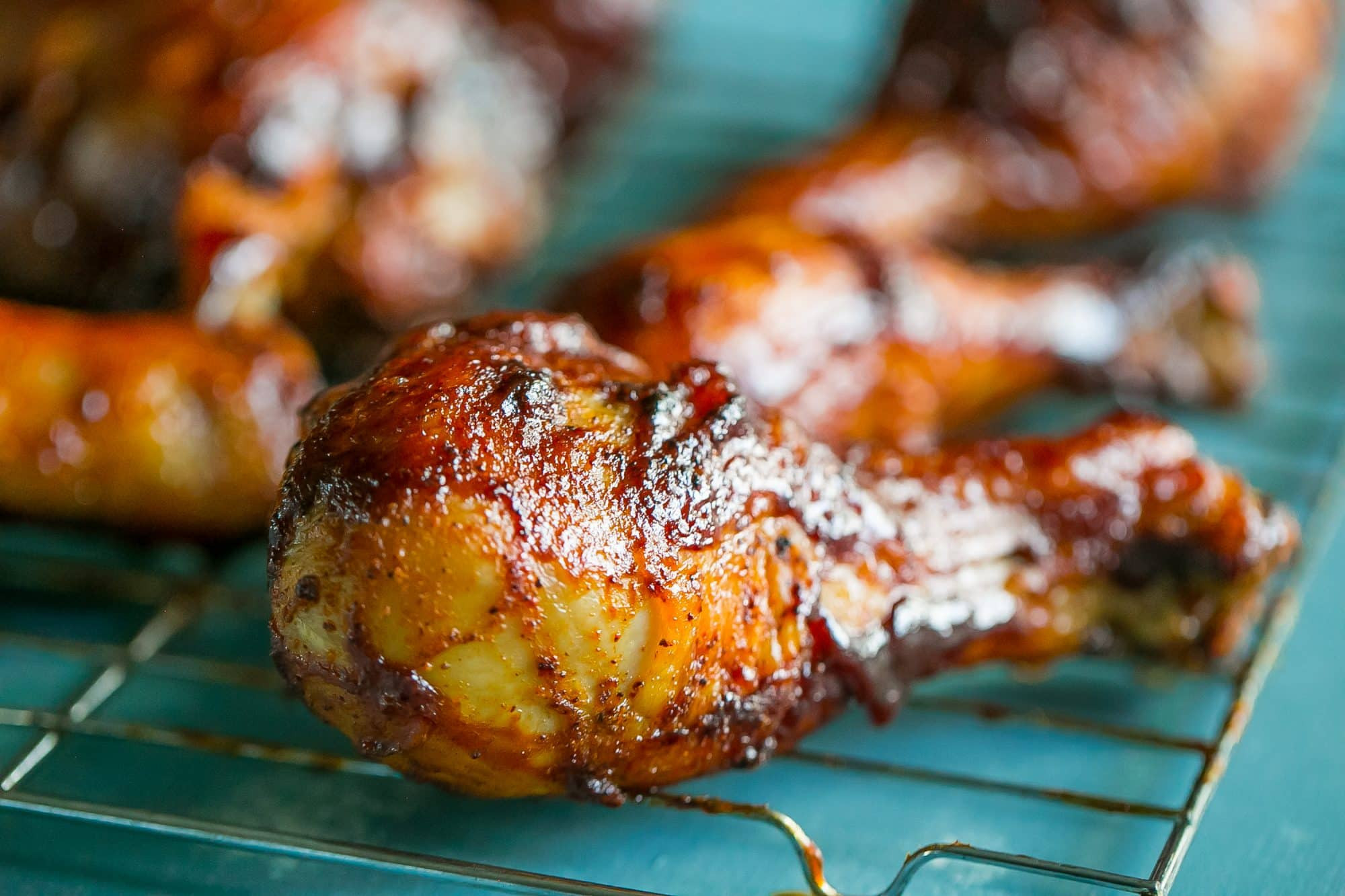 Baked Bbq Chicken Drumsticks  Crunchy Baked BBQ Chicken Drumsticks Sweet Cs Designs