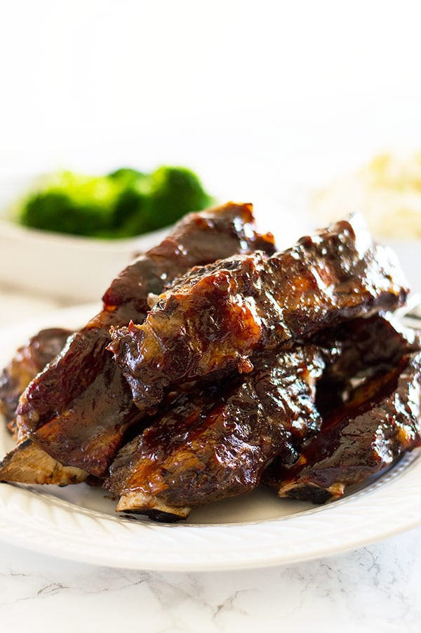 Baked Beef Ribs  No Fuss Easy Oven Baked Beef Ribs
