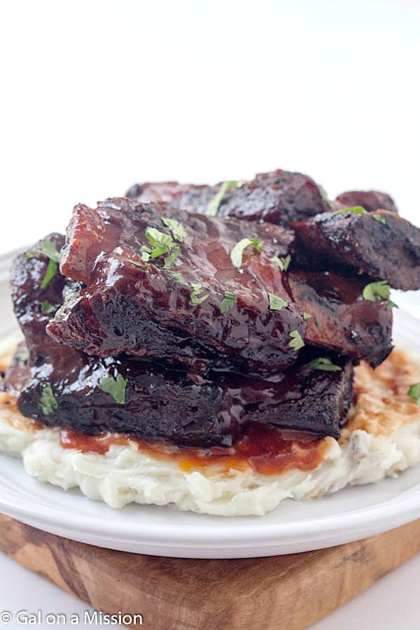 Baked Beef Ribs  Baked Barbecue Beef Short Ribs Gal on a Mission