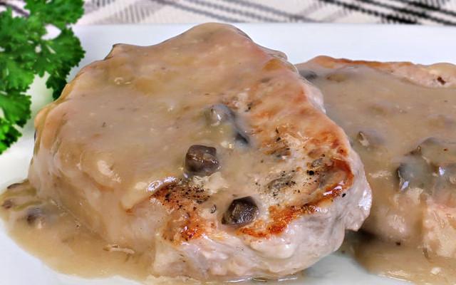 Baked Boneless Pork Chops With Cream Of Mushroom Soup  Oven Baked Boneless Pork Chops Recipe Country Recipe Book