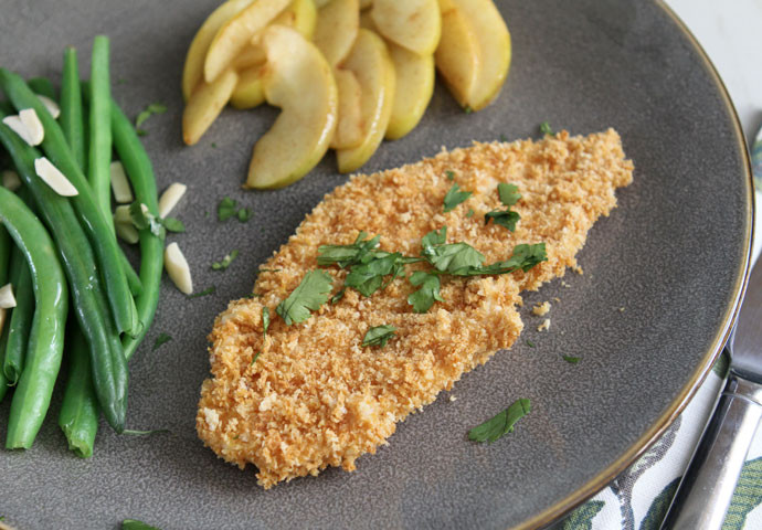 Baked Breaded Chicken Cutlets  Howe We Live Easy Breaded & Baked Chicken Cutlets