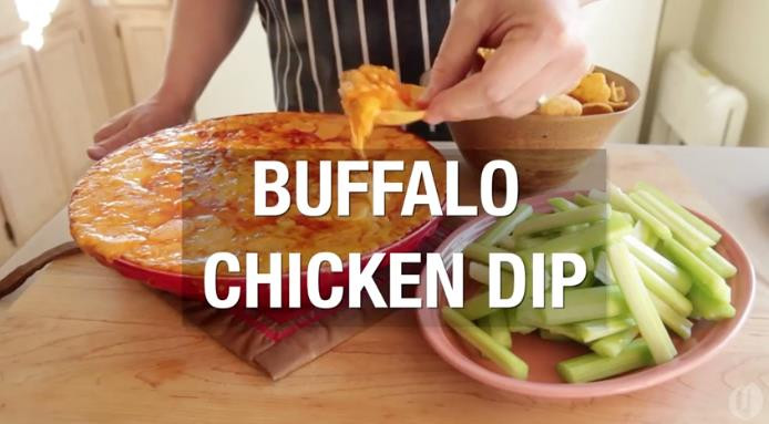 Baked Buffalo Chicken Dip  Baked Buffalo Chicken Dip Here s A Killer Recipe For
