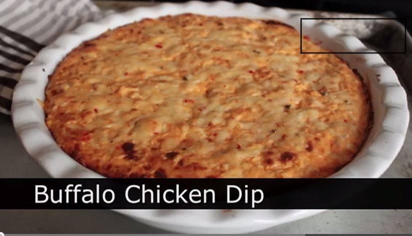 Baked Buffalo Chicken Dip  Buffalo Chicken Dip Spicy Baked Buffalo Chicken Dip