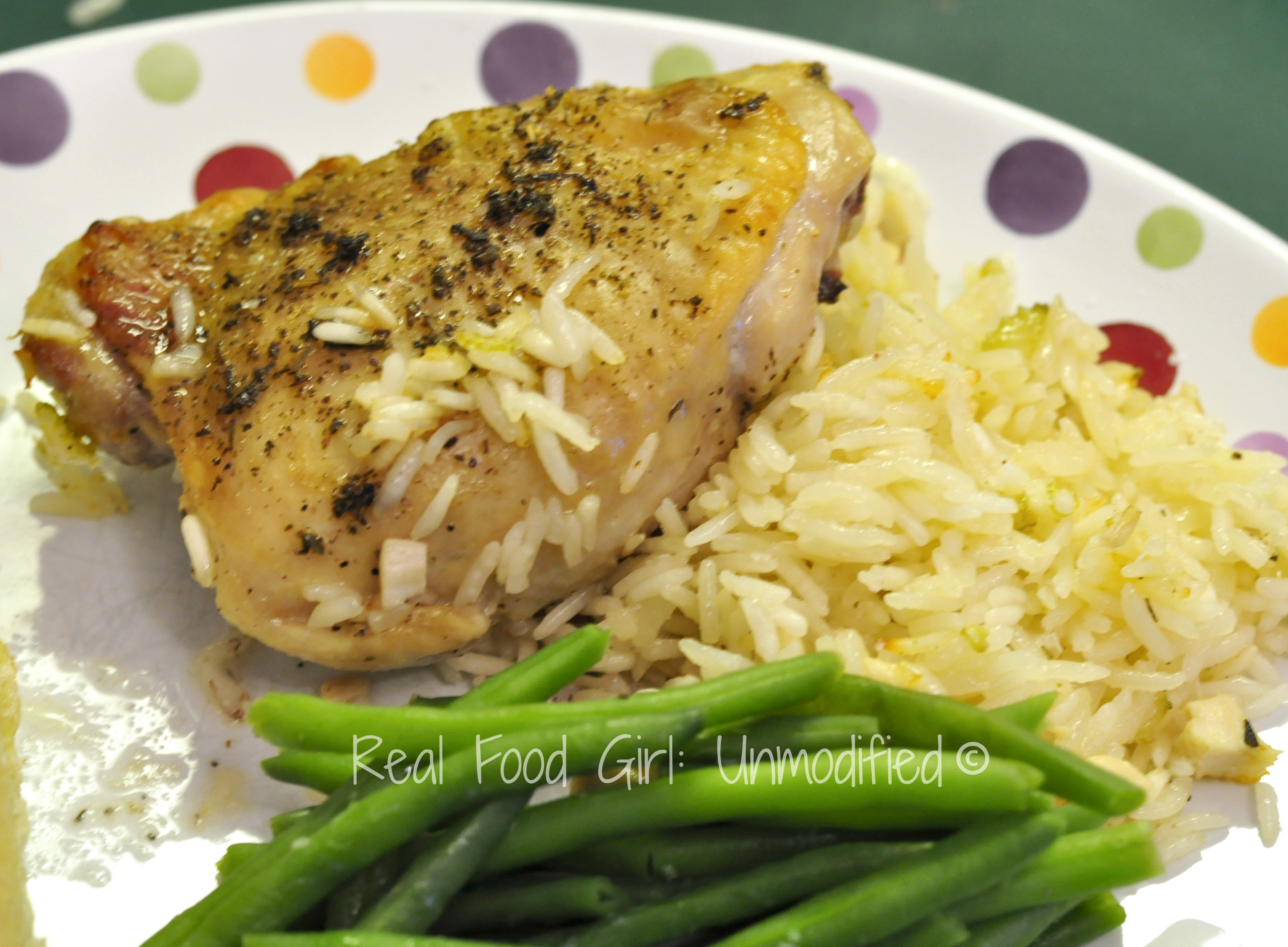 Baked Chicken And Rice Recipes  Lazy Baked Chicken and Rice