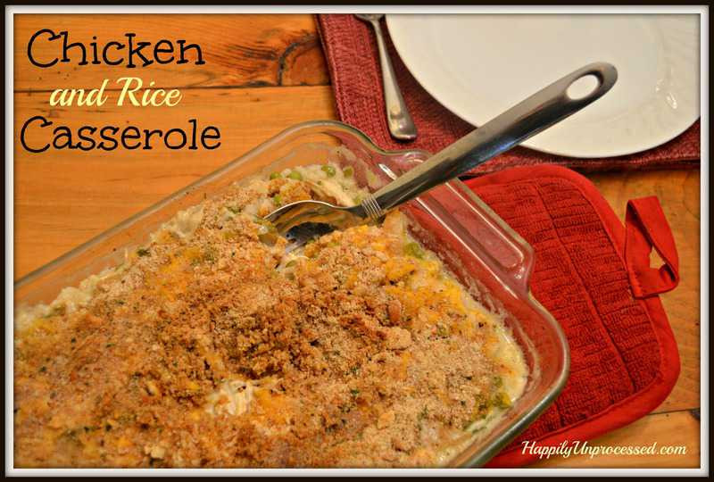 Baked Chicken And Rice Without Canned Soup  chicken and rice bake recipe without soup