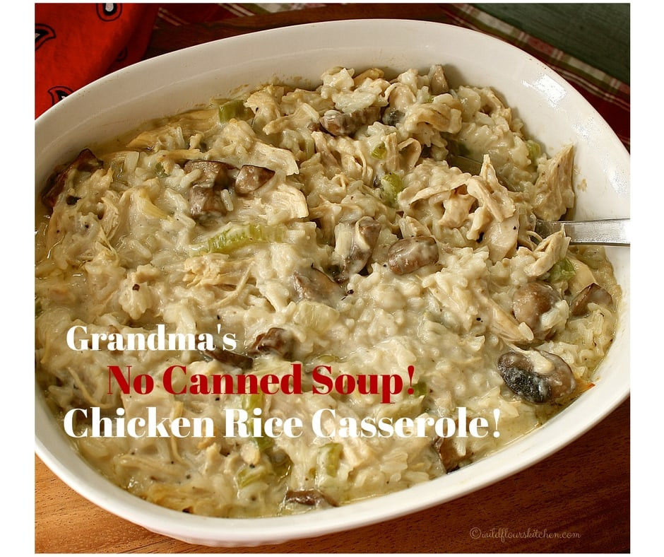Baked Chicken And Rice Without Canned Soup  Baked Chicken And Rice Without Canned Soup Best s