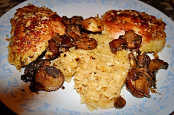Baked Chicken And Rice Without Canned Soup  Quick & Easy Recipe Chicken and Rice Bake without Canned