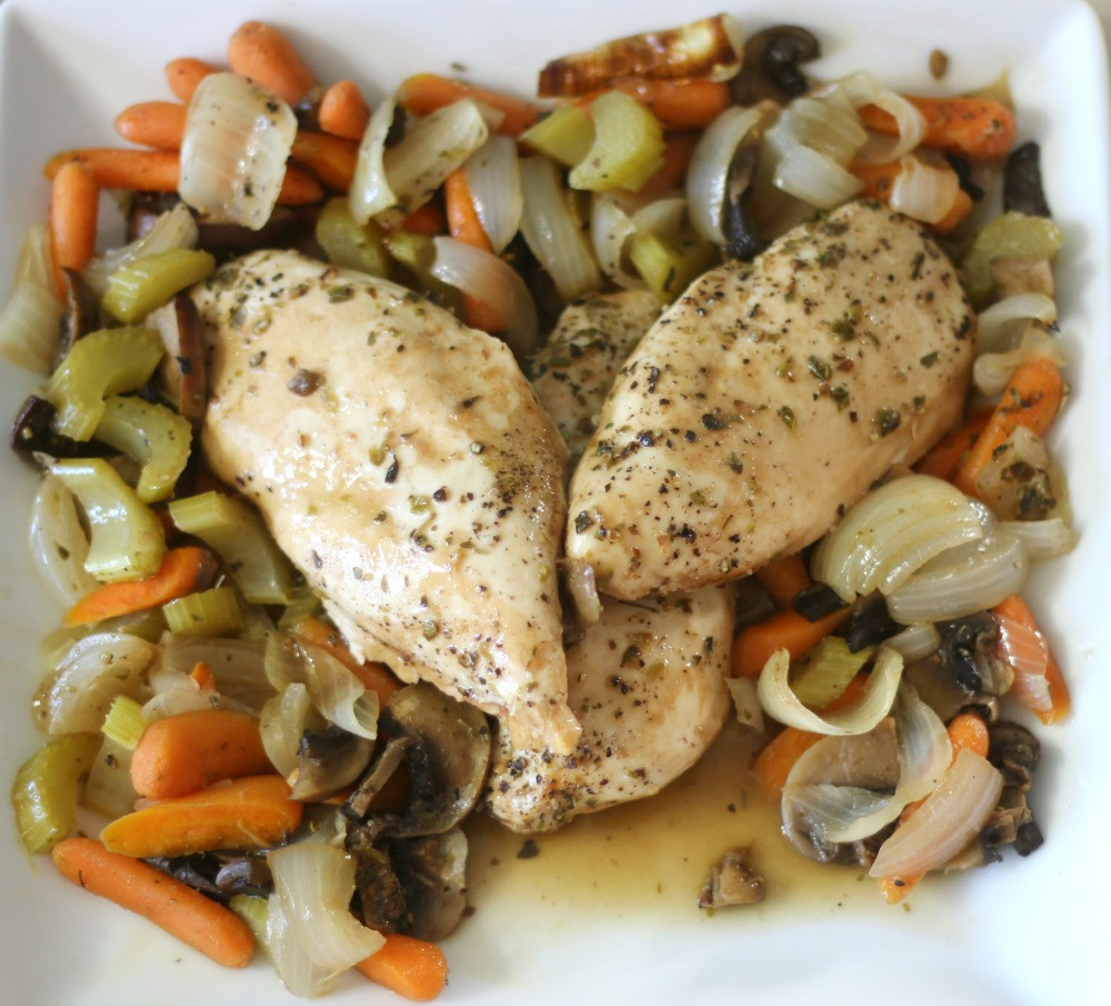 Baked Chicken And Vegetables  Baked Chicken and Ve ables