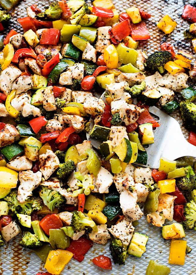 Baked Chicken And Vegetables  Oven Roasted Chicken and Veggies Life In The Lofthouse