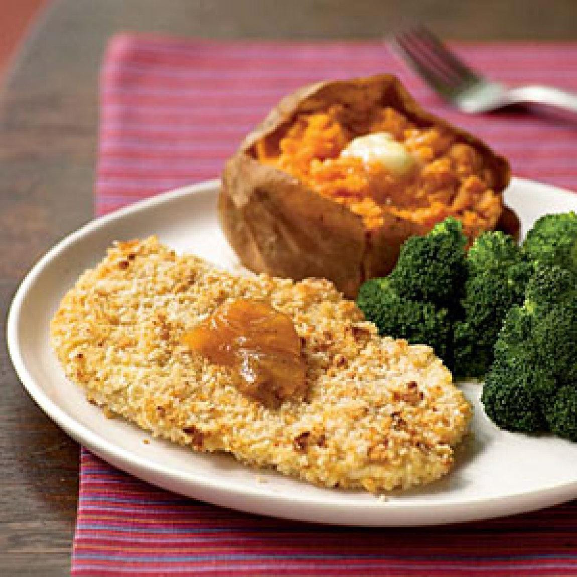 Baked Chicken Cutlet Recipes  Peanutty Baked Chicken Cutlets Recipe