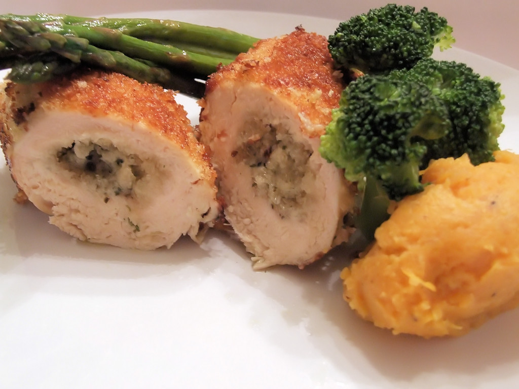 Baked Chicken Kiev  how to cook chicken kiev in the oven