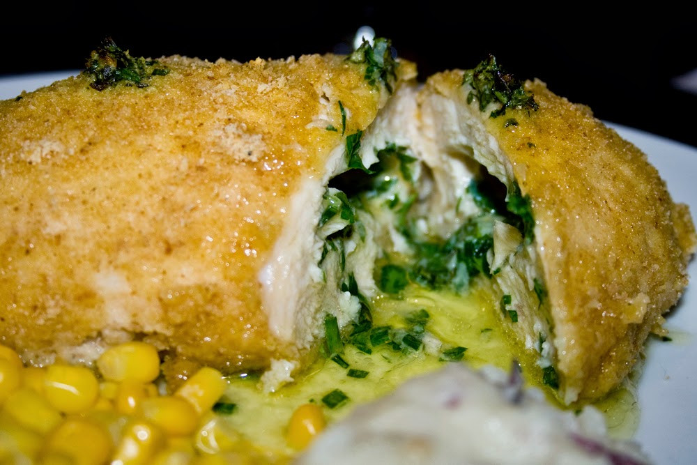 Baked Chicken Kiev  Very Angry Bird Chicken Kiev