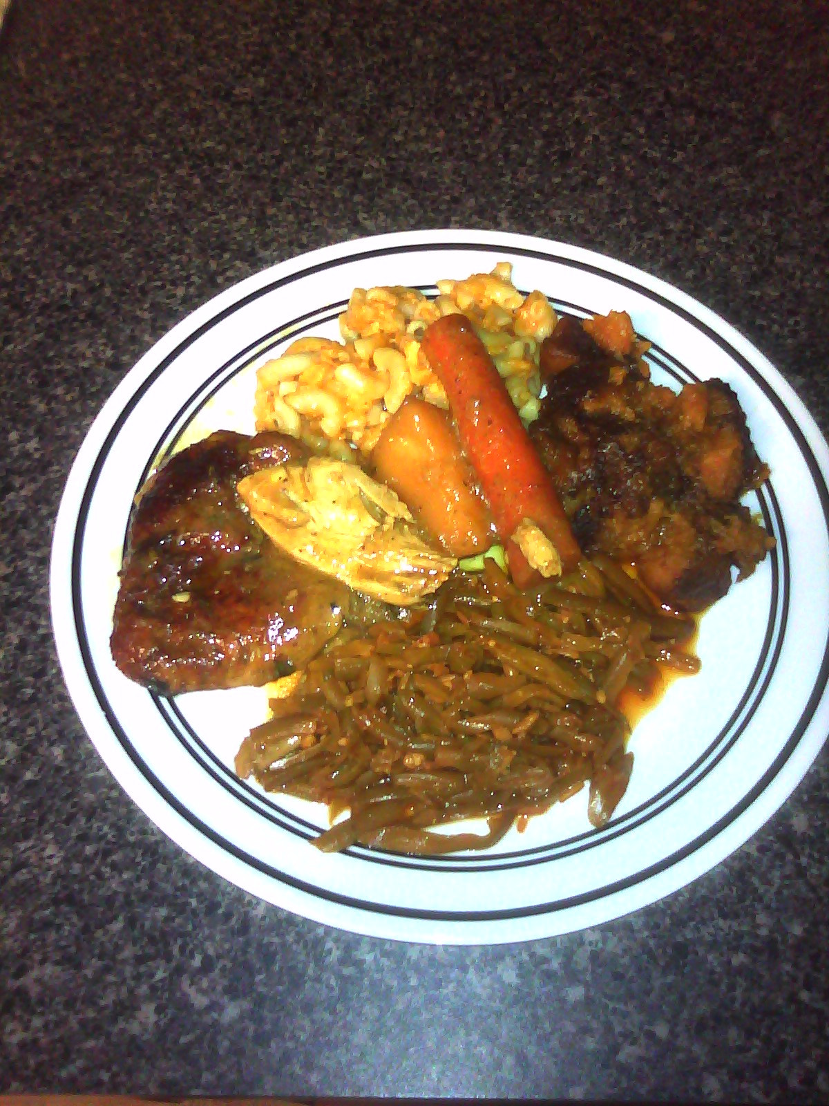 Baked Chicken Mac And Cheese  oul Food baked chicken mac and cheese can d yams
