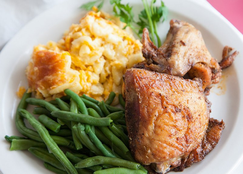 Baked Chicken Mac And Cheese  chicken mac and cheese bake