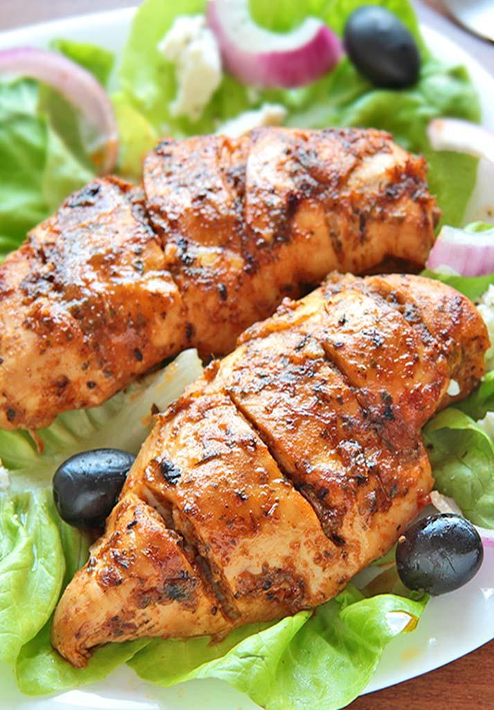 Baked Chicken Marinade  Easy Greek Marinated Chicken Sugar Apron
